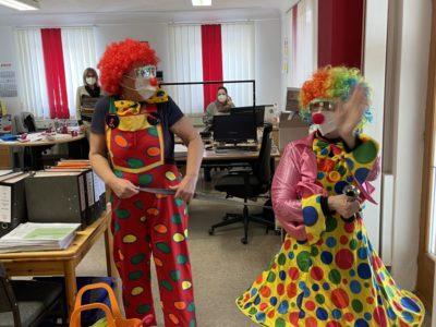 Die Clowns sind los!