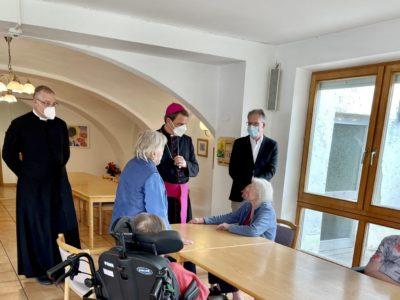 Besuch von Bischof Dr. Stefan Oster